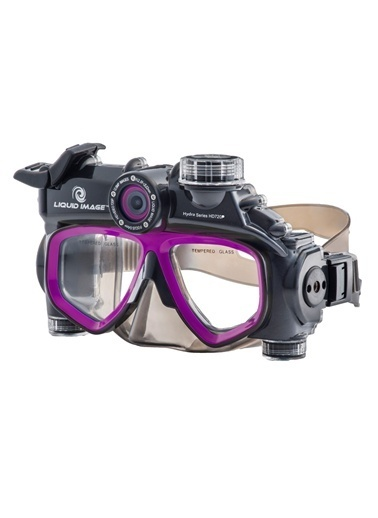 Hydra Full Hd 720P 12.0Mp Video Dalış Maskesi-Liquid Image